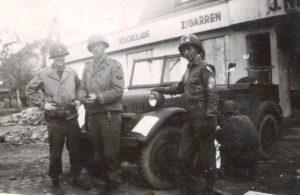 RJMJr., Fletch, Smitty, Plettenberg 1945